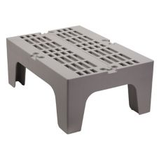 "Cambro DRS300480 Sp. Gray 21"" x 30"" x 12"" Slotted Top Dunnage Rack"