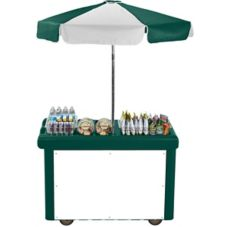 Cambro Green Camcruiser® Vending Cart
