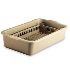Vollrath 52827 24-1/16 x 13-1/2 Half Rack And Tub Flatware Soak System