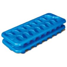 Sterilite 72320024 Blue Stacking Ice Cube Trays - 2 / PK