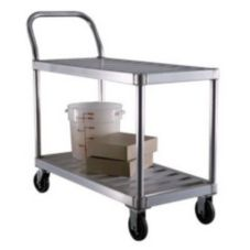 New Age Industrial Produce / Stocking Cart w/ Push Handle
