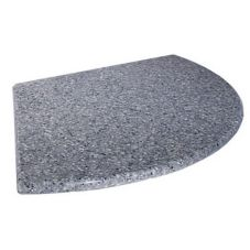 "Gourmet Display SS701 16"" Gray Serving Stone Tray For Tanya Stand"