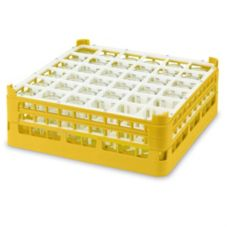 Vollrath 5278155 Gold Full Size X-Tall Plus 36-Compartment Glass Rack