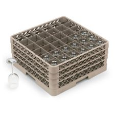 Traex® 36 Compartment 3 Extender Beige Glass Rack