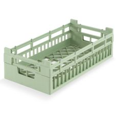 Half Size Tall Open Rack, Light Green, 10 x 19-1/4 x 7-1/8