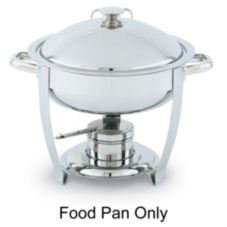 Replacement S/S Food Pan for 46502 Orion Round Chafer