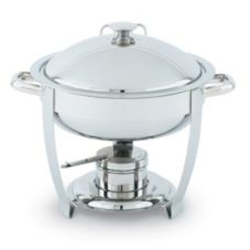 Vollrath® 46503 Orion Small Round 4 Qt. S/S Lift-Off Chafer