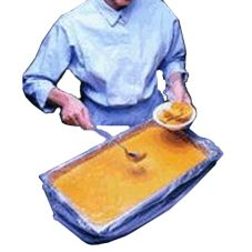 Handgards 303679981 PanHandlers Full Size Steam Pan Liner - 250 / CS