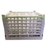 Vollrath® 5273761 Gray Full Size 16-Compartment Glass Rack
