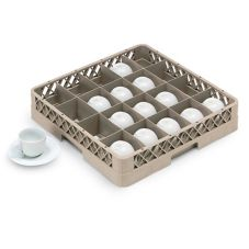 Vollrath® TR5 Traex® 20 Compartment Beige Glass Rack