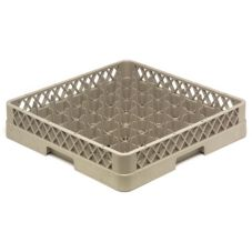 Vollrath TR9 Traex Beige 49 Compartment Glass Rack