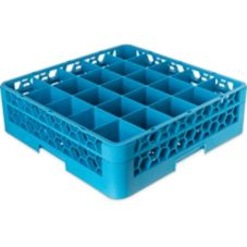 Carlisle® OptiClean™ 25-Compartment Glass Rack