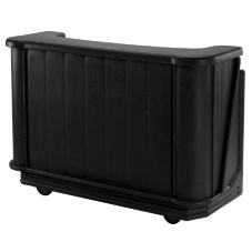 Cambro BAR650PMT110 Cambar Black Mid-Size 110V Post Mix Portable Bar