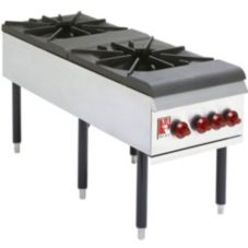 "Wolf 18-W x 49"" Stock Pot Range"