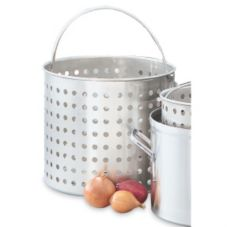 Vollrath 68291 Wear-Ever Aluminum Boiler Basket For 40 Qt Stock Pots