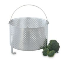 "Vollrath® 68288 9-5/8"" Perforated Footed Aluminum Basket"