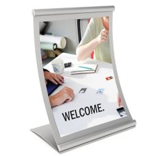 "Concurva® Counter Top Sign Holder, 11""  x 8.5"" Insert"