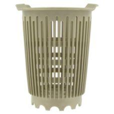 Beige Plastic Silverware Basket