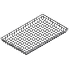 "Marlin Steel Wire Products 128 Wire 12"" x 18"" x 2"" Donut Basket"