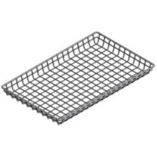 "Marlin Steel Wire Products 130-12 Wire 18"" x 26"" x 2"" Donut Basket"