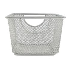 "Design Ideas 351509 5.3"" x 5.3"" Extra Small Silver Mesh Storage Nest"