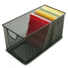 Design Ideas 342894 Black Mesh CD Box
