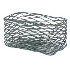 FOH® TBB018PTI22 Patina Wireware Rectangle Basket - 6 / CS