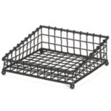 TableCraft GM1212 Grand Master Transformer Black Square Metal Basket