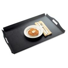 "Cal-Mil 930-2-13 Low Profile 16 x 13"" Room Service Tray - 12 / CS"