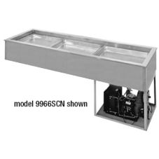 "Randell® 9987SCN Drop In 87.5"" Narrow Refrigerated Frost Top"