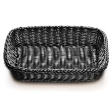 Tablecraft M2489 Ridal Collection™ Black Rectangle Basket