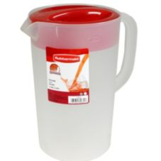 Rubbermaid® 1 Gallon White Pitcher with Chili Lid