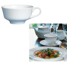 Steelite 42042370 Ronde de les Anges 5 Oz Tea Cup - 24 / CS