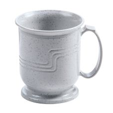 Cambro MDSM8480 Speckled Gray Shoreline Collection 8 Oz. Mug - 48 / CS