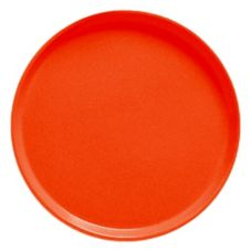"Cambro® Camtray® 16"" Orange Pizzazz Round Serving Tray"
