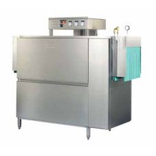 "Meiko K-64ST 64"" Double Tank Steam Rack Conveyor Dishwasher"