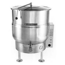 Blodgett 40E-KLS 40 Gal Electric 3-Leg Stationary Kettle w/ Hinged Lid