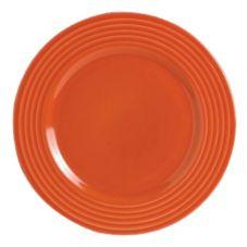 "Steelite B075P309 Anfora Tiffany Coral Red 6¼"" Plate - 24 / CS"