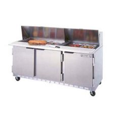 Beverage-Air SPE72-08 Elite Refrigerated Counter with 8 Pan Openings
