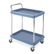 Metro BC2030-2DMB BC Series 2-Shelf Deep Ledge Utility Cart