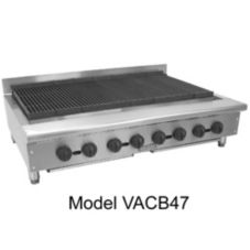 "Vulcan VACB60 Achiever Countertop 72"" Natural Gas Charbroiler"