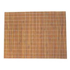 "FOH XPM003ORB23 18"" x 13"" Orange Bamboo Placemat - 12 / CS"