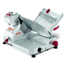 Berkel Manual Slicer w/ 45° Angled Gravity Feed and Sharpener