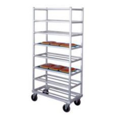 New Age Universal End Loading Mobile Platter Rack