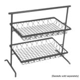 Dover Metals D-810AS Steel 2-Tier Flat ; Stand