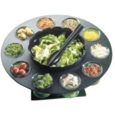 """Cal-Mil® 1014 Revolving 18"""" x 9.5"""" Salad Server"""