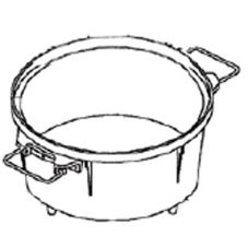 Town Food Service 56853 55 Cup Replacement Rice Pot