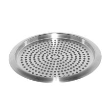 Service Ideas TR1412 Stainless Steel Non-Slip Tray with Rubber Grips