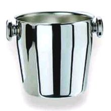 Mepra S.p.A 200665 BRUSHED Stainless Steel 50-3/4 Oz. Ice Bucket