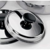 Regalware® KB9C021 Stainless Steel Cover for 1 Qt Sauce Pan
